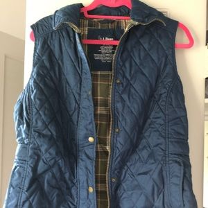 LL Bean Quilted Vest